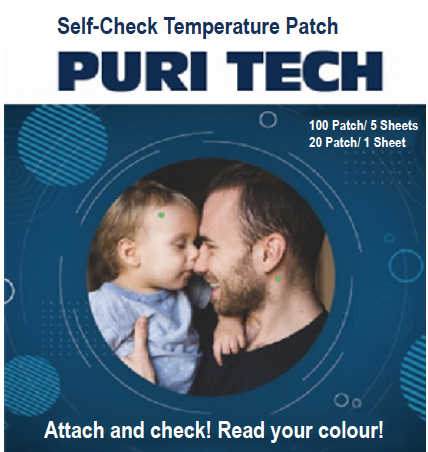 temperature body patch